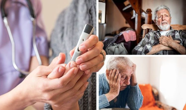 Diabetes type 2: The 'irreversible' signs of high blood sugar levels