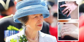 Princess Anne's two engagement rings worth £30,000 have special meanings
