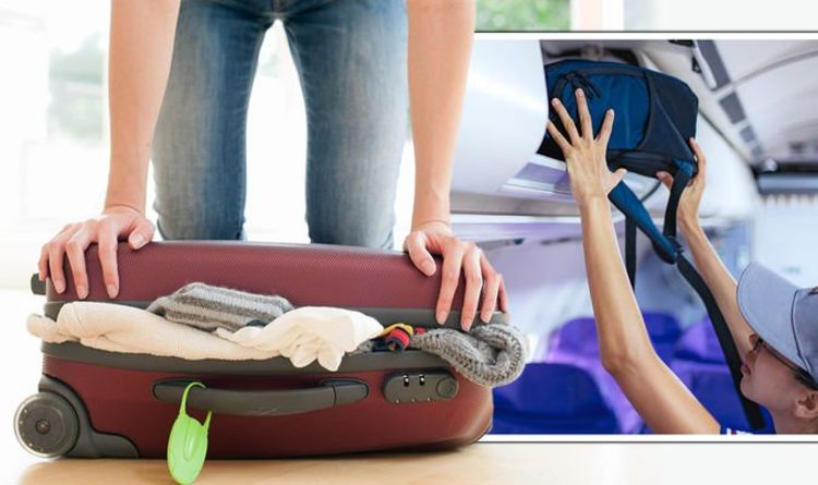 Hand luggage: Travel experts reveal best way to save space in cabin baggage