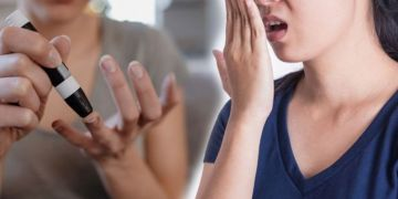 Diabetes type 2: What does bad breath have to do with the condition?