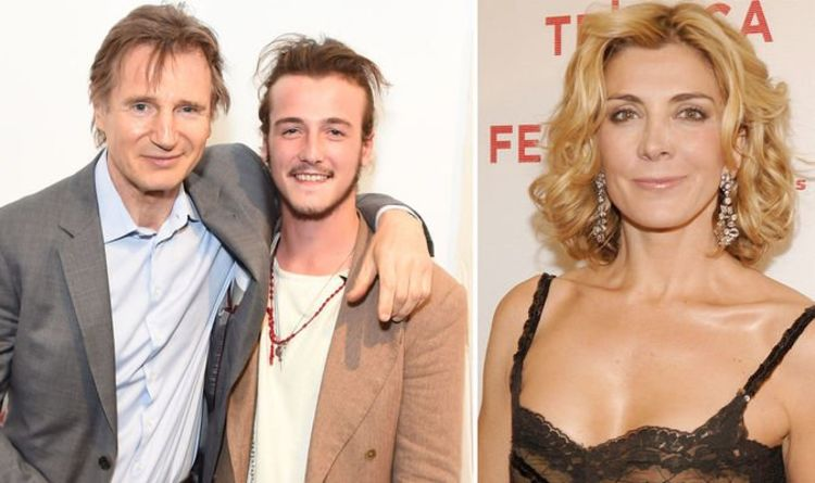 Liam Neeson and son Micheál: 'Emotional new film helped us face Natasha Richardson death'