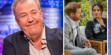 Jeremy Clarkson hits out with another jibe at Meghan Markle
