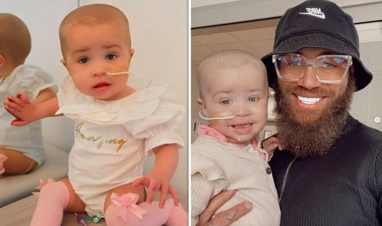 Ashley Cain inundated with donations for daughter's life-saving treatment after relapse