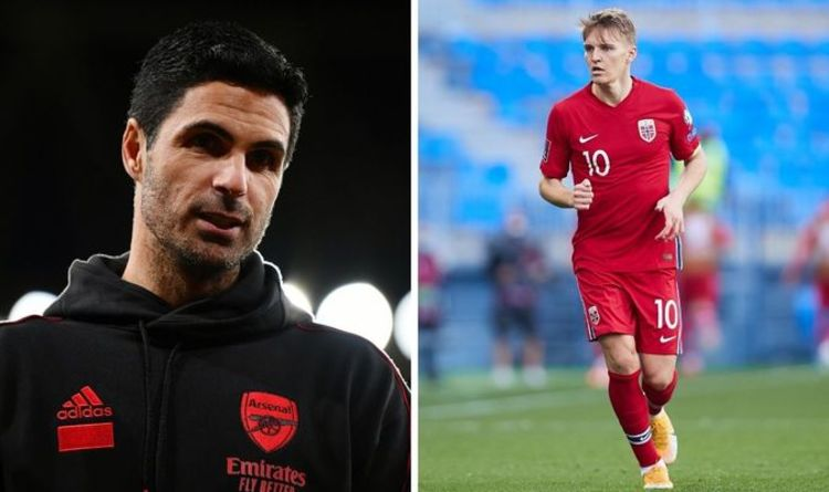 Arsenal have £50m transfer fear as discount Martin Odegaard alternative emerges