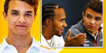 Lando Norris following footsteps of Lewis Hamilton outside of F1 bubble