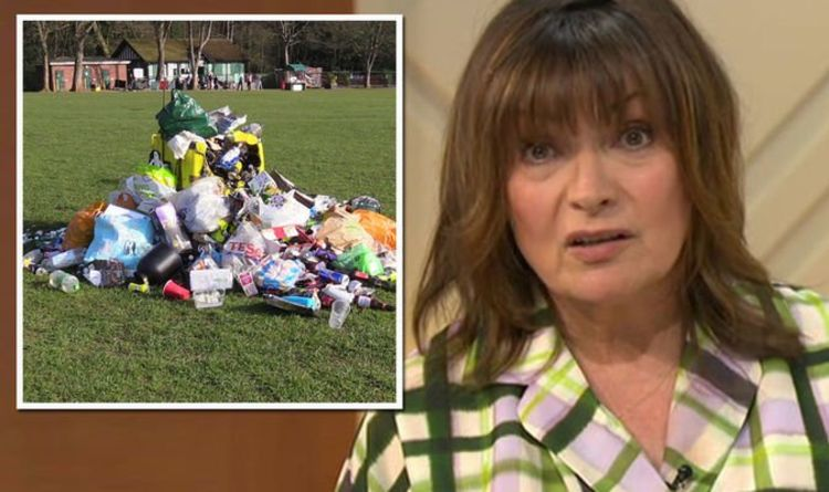 Lorraine Kelly: ITV presenter rages 'take your c**p home with you' in heated Twitter post