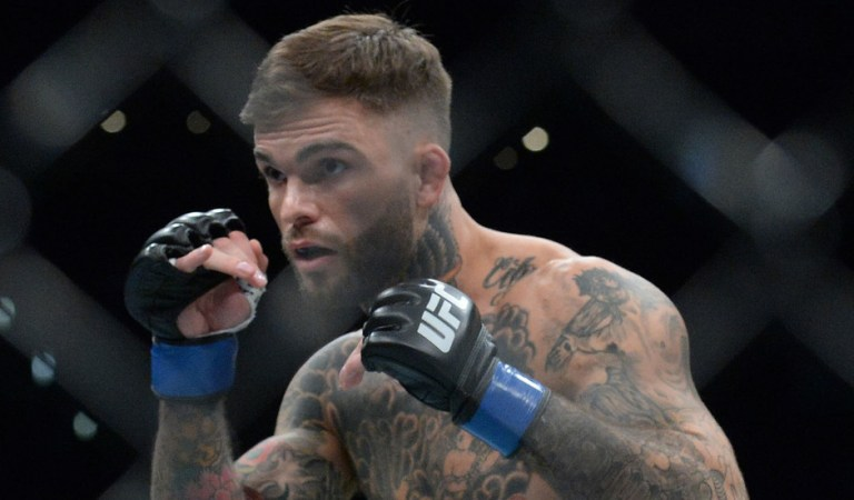 'He's two years old': Furious ex-UFC champ Garbrandt 'kicked off US flight because of facemask issue with young son'