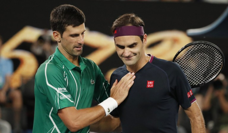 Novak on top: Djokovic hailed as he surpasses Roger Federer's record for most weeks spent as world number one