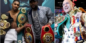 Floyd Mayweather 'to work with Anthony Joshua' ahead of Tyson Fury fight – and claims he'll make $100 MILLION from Logan Paul bout