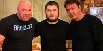'He is 100% officially retired': UFC supremo Dana White admits defeat in bid to persuade 'brother' Khabib Nurmagomedov over dinner