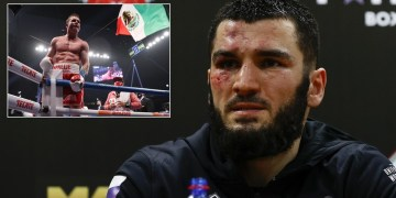 'If Canelo calls, we're ready': Undefeated Russian star Beterbiev eyes Alvarez showdown after latest KO victory (VIDEO)