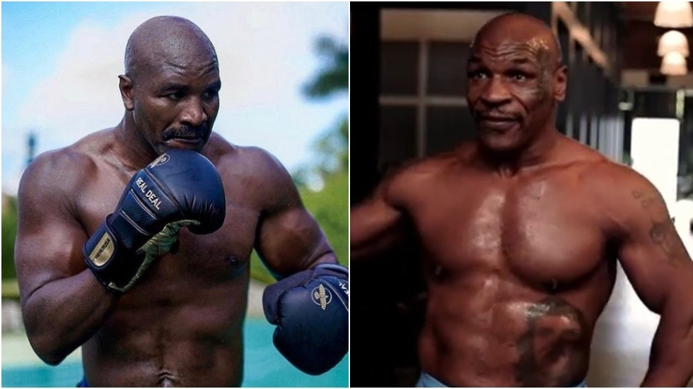 Mike Tyson 'turns down $25mn offer to fight Evander Holyfield' as deal for trilogy between heavyweight icons 'falls apart'