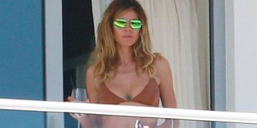 Heidi Klum, 47, Dances In A Striped Bikini While Celebrating Monday: 'Yippee' — Watch