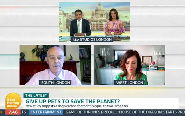 GMB guest wants dogs and cats 'banned' to stop climate change
