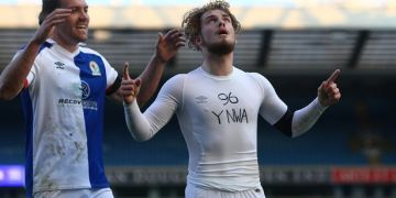 Elliott pays tribute to Hillsborough victims during Blackburn goal celebration