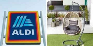 Aldi's hanging egg chair is back in stores this weekend - but you must be quick