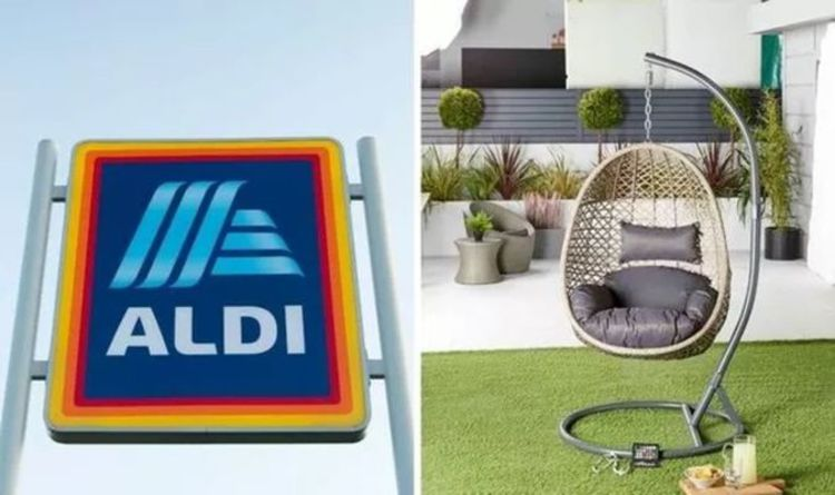 Aldi's hanging egg chair is back in stores this weekend – but you must be quick