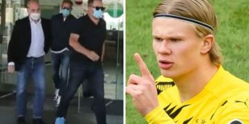 Erling Haaland's agent lands in Barcelona with Man Utd and Chelsea to miss out on transfer