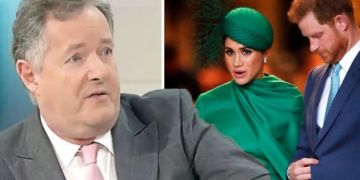 Piers Morgan aims jibe at Meghan Markle in 'April Fools' quip about returning to GMB