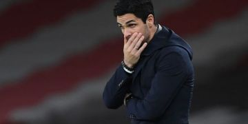 Fuming Mikel Arteta 'in shock' at 'unacceptable' Arsenal loss to Liverpool but takes blame