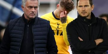Tottenham boss Jose Mourinho risks Frank Lampard Chelsea sack repeat after brutal comment