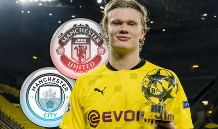 Erling Haaland can make Man Utd title statement vs Man City amid £289m transfer duel
