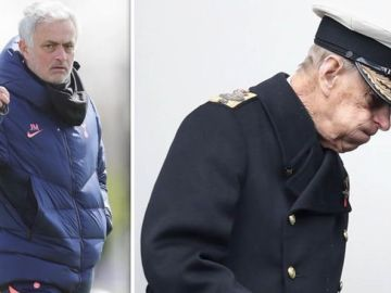 Tottenham boss Jose Mourinho halts press conference with emotional Prince Philip tribute