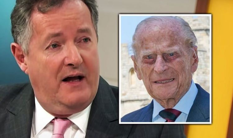 Piers Morgan admits Prince Philip's death 'hit him hard': 'A constant presence in my life'