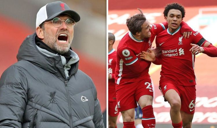Liverpool boss Jurgen Klopp details dressing room anger after Aston Villa win