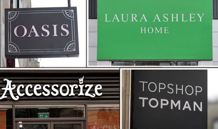 The high street shops not reopening on April 12: Full list of stores closed forever