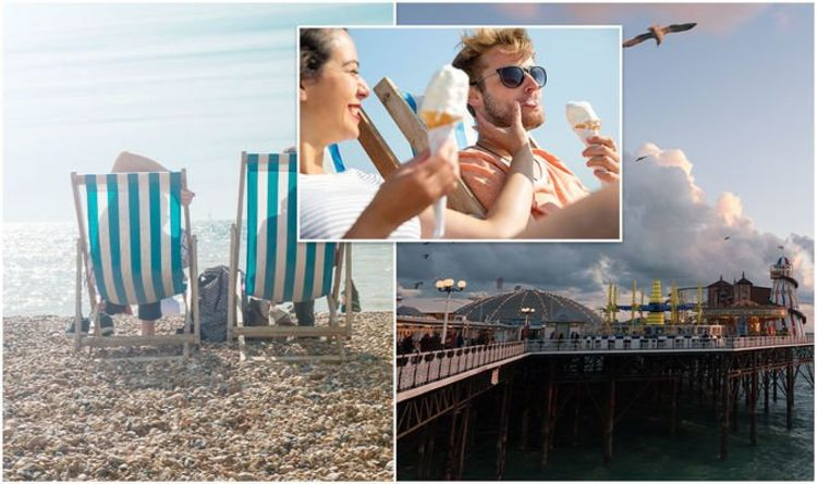 UK holidays: Brighton Beach takes the crown as 'UK's most popular beach'