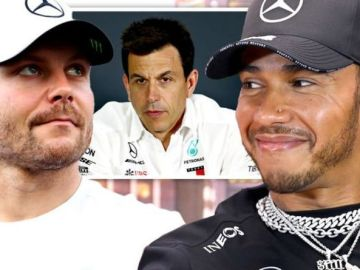 Lewis Hamilton and Valtteri Bottas recall Toto Wolff's angriest moments at Mercedes