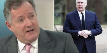 'How dare he!' Piers Morgan erupts at 'brass-necked' Prince Andrew over uniform demands