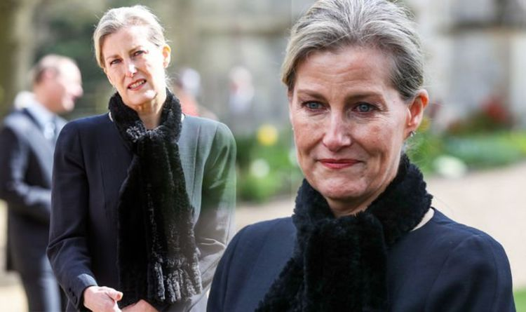 Sophie Countess of Wessex: 'At Queen's side' amid Prince Philip death body language shows