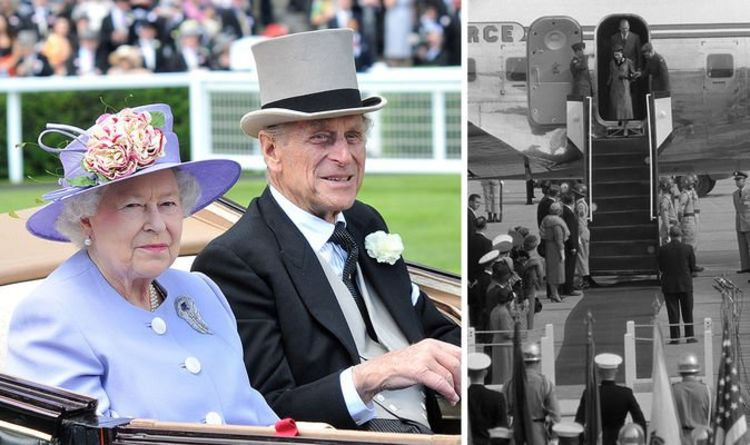 Prince Philip and Queen Elizabeth experienced supermarket 'first' on USA royal tour