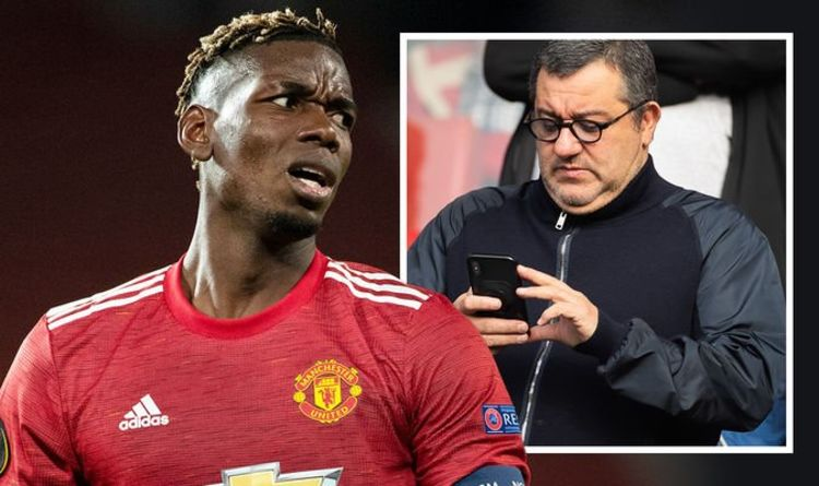 Paul Pogba makes huge Man Utd salary demand as Mino Raiola explores transfer options