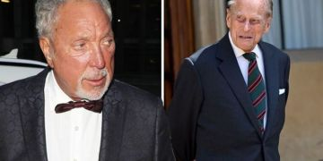 Tom Jones addresses Prince Philip's apology after the Duke's 'gargle with pebbles' swipe