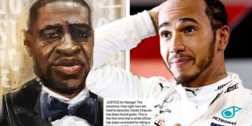 Lewis Hamilton talks 'hard to describe' emotions after 'monumental' Derek Chauvin verdict