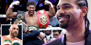 David Haye has Anthony Joshua theory ahead of blockbuster Tyson Fury fight - EXCLUSIVE
