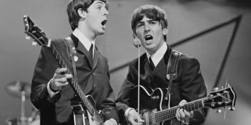 Sir Paul McCartney pays tribute to George Harrison and George Martin on St George's Day