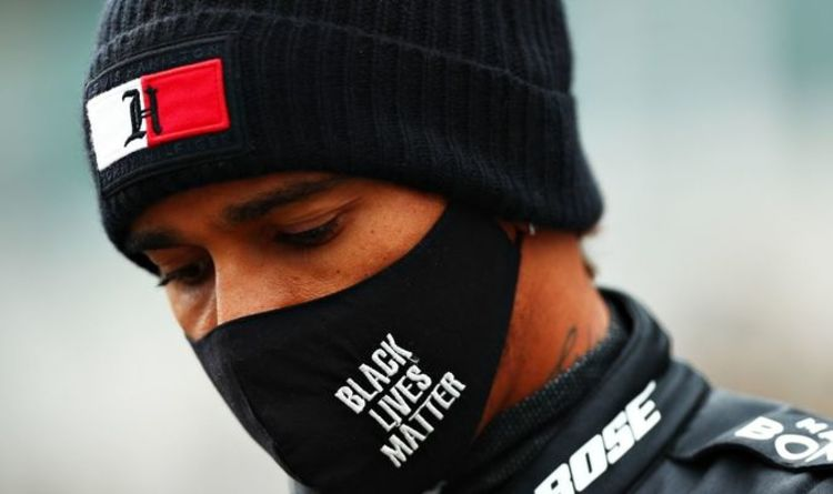 Lewis Hamilton joins social media boycott in a stand against racism and abuse