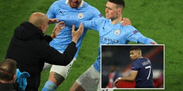 'Mbappe are you ready': Man City star Foden singles out PSG ace as fans hail Guardiola influence on England youngster