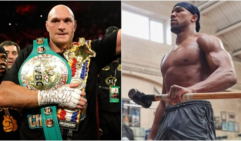 Anthony Joshua 'doesn't give a sh*t' about Tyson Fury deadline, promises to 'kick his a**' as potential super-fight draws nearer