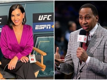'I genuinely was so hurt': UFC presenter Olivi speaks out after being 'snubbed' by ESPN pundit Stephen A. Smith