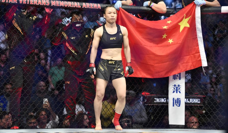 'How dare you boo her': UFC Florida crowd slammed for jeering Chinese ex-champ Zhang Weili