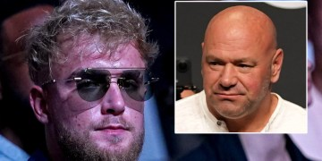 'Pay your fighters': Jake Paul takes aim over UFC pay packets as feud with promotion president Dana White escalates
