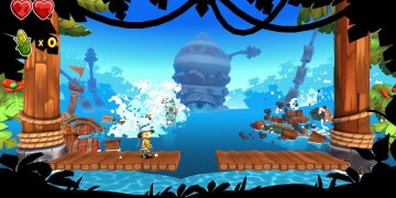 Review: Stitchy in Tooki Trouble - Pretty But Painfully Average DKC-Inspired Platforming