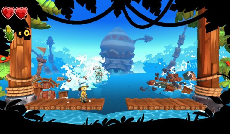 Review: Stitchy in Tooki Trouble – Pretty But Painfully Average DKC-Inspired Platforming
