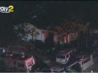 Large Explosion At Valley Glen Home Los Angeles