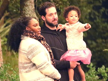 Serena Williams' Daughter, Olympia, 3, Crashes Dad Alexis' Podcast: Watch Adorable Video
